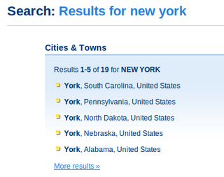 Newyork search